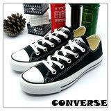 【女】CONVERSE帆布鞋  ALL STAR黑短基本款170416