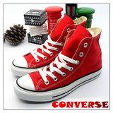 【女】CONVERSE帆布鞋  ALL STAR紅高基本款03U170405