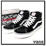 VANS SK8 HI 復古高統休閒鞋 基本款 女 黑 100199