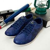 男 asics經典復古鞋 BIKU LE紫藍H101L-5858