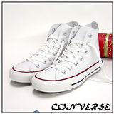 【女】CONVERSE帆布鞋  ALL STAR白高基本款  170401  女