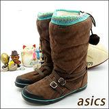 (女)【asics】時尚鞋 SIENNA 咖啡 TQA315-6161