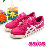 (女)【asics】經典帆布鞋AARON 粉紅色 TQA290-1901