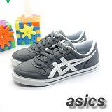 (男)【asics】經典帆布鞋AARON 灰白色 H900N-1601