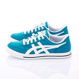 女【asics】經典帆布鞋 ALTON 藍白TQA290-4701