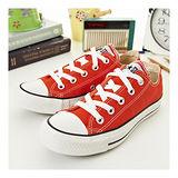 【女】 CONVERSE短筒帆布鞋 ALL STAR 橘紅 23U170110