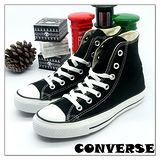 【女】CONVERSE帆布鞋  ALL STAR黑高基本款  170400