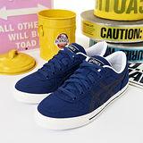 女 asics經典款帆布鞋 AARON 藍 H900N-5050
