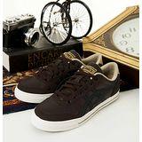 男--經典潮流鞋 AARON咖啡黑H934Y-6190