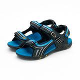 【男】DIADORA  多功能運動涼鞋系列 藍黑 8906