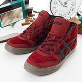 女--asics經典潮流鞋 AARON MT 紅黑H1B1N-2390