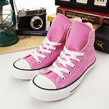 女 CONVERSE高筒帆布鞋 ALL STAR 粉紅170404