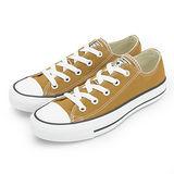女 CONVERSE 短筒帆布鞋 ALL STAR 基本款 繽紛新色 淺咖 33U170041