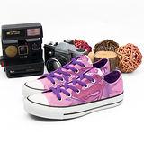 【女】CONVERSE 帆布鞋 正義聯盟 粉紅紫  31U170052