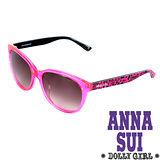 Anna Sui日本Dolly Girl系列經典洋娃娃元素造型太陽眼鏡‧螢光粉【DG802241】