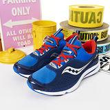 男 SAUCONY-輕量慢跑鞋 GRID PROFILE 藍紅 25123-3