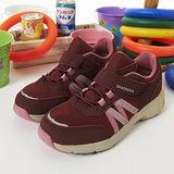 【女】 DIADORA健走鞋--台灣製造EasyWalk 輕鬆走--酒紅粉--8002