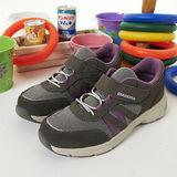 【女】 DIADORA健走鞋--台灣製造EasyWalk 輕鬆走--灰紫--8007