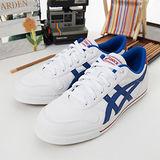 男 asics經典潮流鞋 AARON 白藍紅H929J-0143