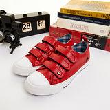 (女) IRUKA日系休閒鞋--春天學院 紅--5852