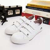 (女) IRUKA日系休閒鞋--春天學院 白--5859