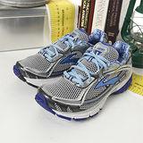 女 Brooks專業越野慢跑鞋 RAVENNA 3  銀藍白-BK1201071B594