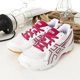 女 asics排、羽球鞋ROTE RIVRE EX5白桃455-0119