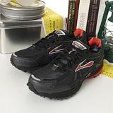 男 Brooks專業越野慢跑鞋 ADRENALINE GTX  黑橘 BK1101021D635