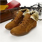 女 asics時尚鞋 PLUMPDOG 淺咖啡--TQA319-6161