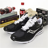 男 SAUCONY輕量慢跑鞋 GRID PROFILE  黑白 25123-1