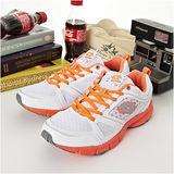 女 LOTTO輕量慢跑鞋--樂活家 2--白橘--7063