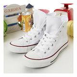 女 CONVERSE經典鞋 星際戰警 皮革布標款 白 22U170412