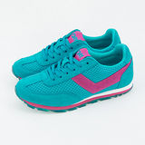 【PONY】女--繽紛韓風復古慢跑鞋--SOHO 藍綠桃 932W1A39BL