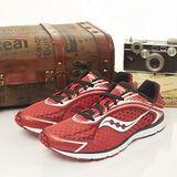 【SAUCONY】男--專業慢跑鞋 GRID TYPE A5 -- 紅白黑--20144-4