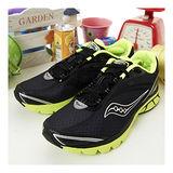 男 SAUCONY專業慢跑鞋 KINVARA 2 黑螢綠 20121-6