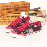【PONY】女--經典帆布鞋 Shooter 紫桃紅 924U1T74PP