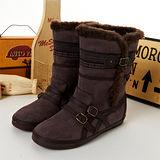 女 asics時尚鞋 HANNA 咖啡 TQA317-2828