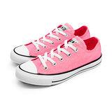 【女】CONVERSE 帆布鞋 ALL STAR  螢光粉  32U170027