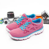 【女】 DIADORA  輕量慢跑鞋--台灣製造EASY RUN輕跑鞋 粉紅藍  8392