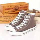 【女】CONVERSE 高筒帆布鞋 ALL STAR 炭灰 31U170433