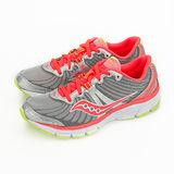 Saucony 專業越野慢跑鞋 GRID RAPTURE -- 銀螢橘 15168-2 --女