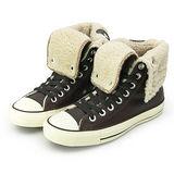 女 CONVERSE 經典鞋 KNEE-HI 咖啡米 34W170081
