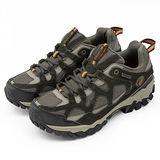 男 LOTTO 專業戶外健走、登山鞋--TRAIL--深咖啡--1333