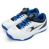 男【ARNOR】 古籃球鞋 SF聯名款第四代 眼鏡蛇COBRA 白黑藍 38006