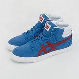 女 asics 亞瑟士 Onitsuka Tiger 經典帆布鞋--A-SIST MT--藍紅白--THN307- 4223