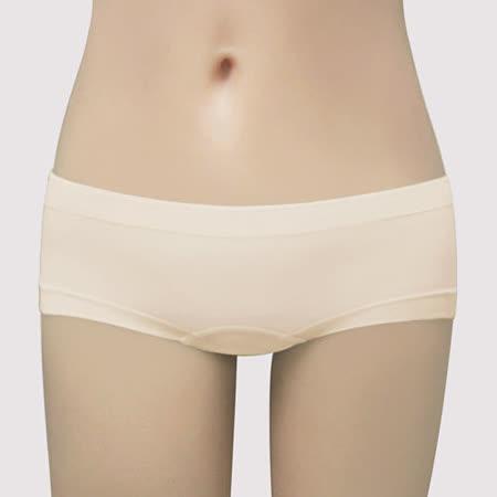 【曼黛瑪璉】F64038-3 IceBar涼感  低腰平口無縫褲(麥穗膚)