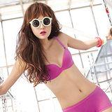 【曼黛瑪璉】R64038 IceBar涼感內衣  B-E罩杯(亮麗紫)