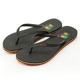 女 VANS 海灘鞋--Lanai--黑黃紅--41062149