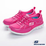 SKECHERS (女) 流行運動鞋 滑翔機 山貓-22704HTPK