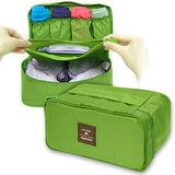 WallyFun 多功能旅行內著收納袋 -草綠